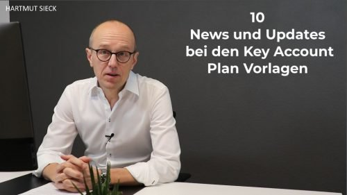 10 News und Updates bei den Key Account Plan Vorlagen