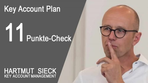 11 Punkte Check für Ihren Key Account Plan