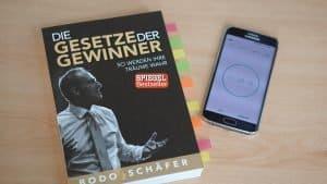 """Buch """"Gesetze der Gewinner"""" von Bodo Schäfer"""