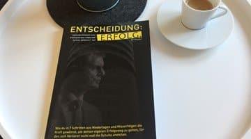 """Mein erstes Buch 2017 """"Entscheidung: Erfolg. von Dirk Kreuter"""""""