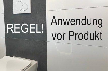 Anwendung vor Produkt, oder: Wir neulich im Fliesenfachgeschäft!