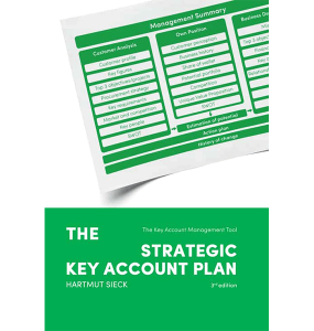Book 'The strategic Key Account Plan' (Hartmut Sieck)