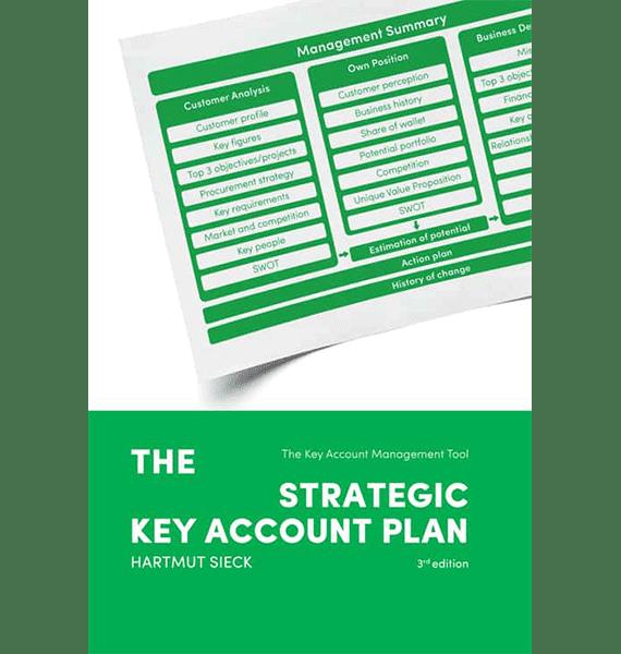 Book 'The strategic Key Account Plan' (Hartmut Sieck)
