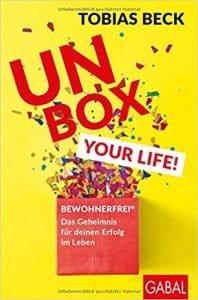 """Buch """"UNBOX YOUR LIFE!"""" von Tobias Beck bei amazon ansehen"""