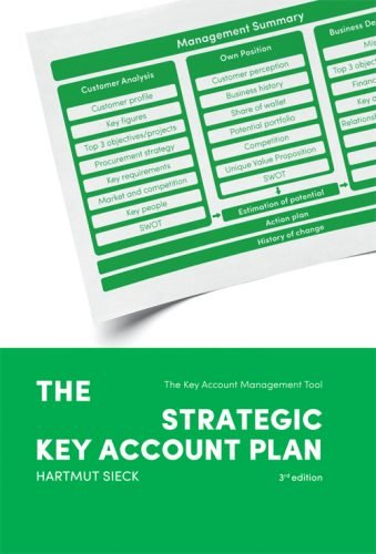 Book 'The strategic Key Account Plan) (Hartmut Sieck)