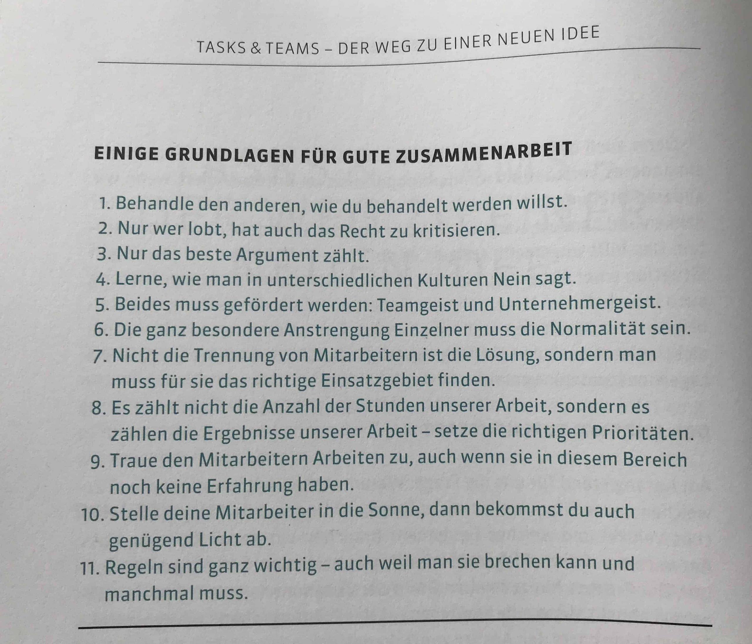 """Buchauszug """"Tasks & Teams"""" Seite 90"""
