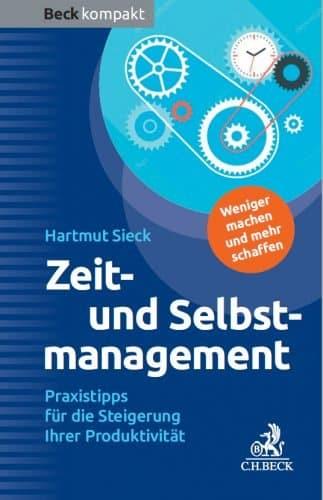 """Buch """"Zeit- und Selbstmanagement"""" von Hartmut Sieck"""