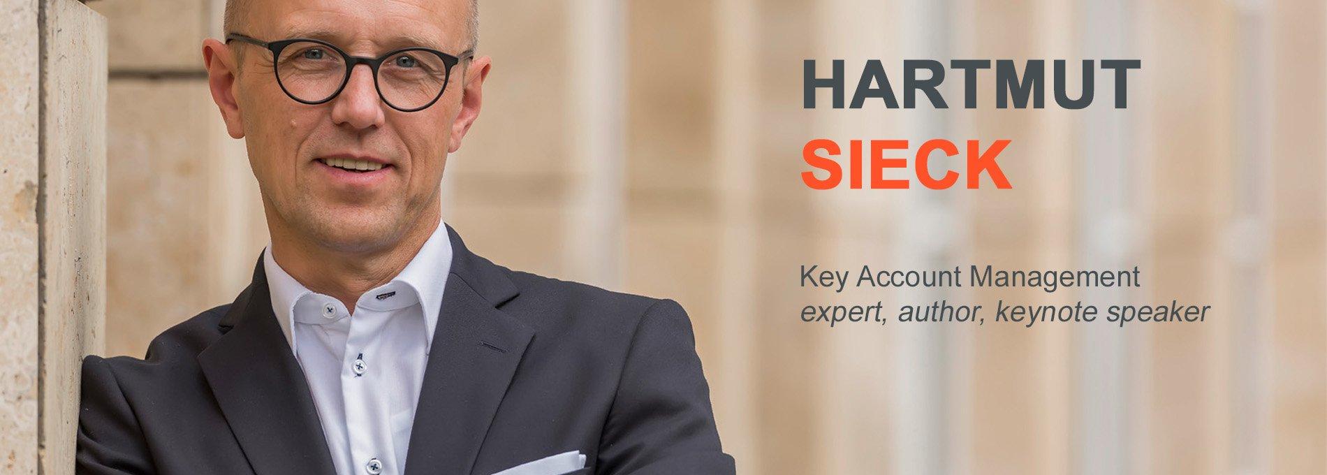 Hartmut Sieck - Key Account Management business consultant, keynote speaker, author