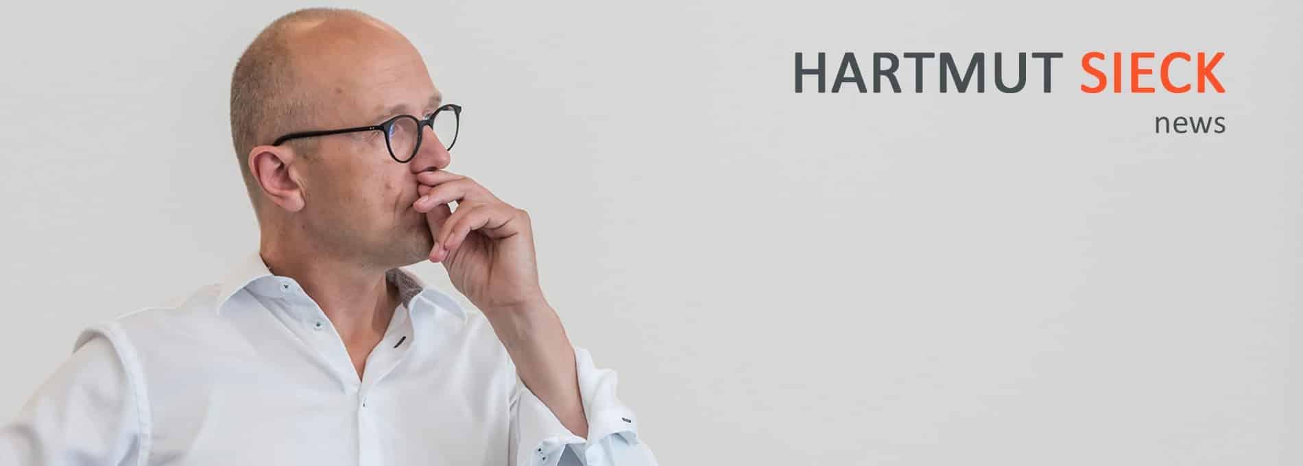 SIECK:news, der Newsletter von Hartmut Sieck