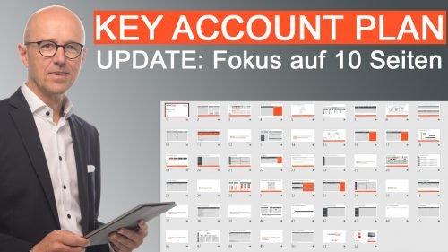 Key Account Plan Vorlage überarbeitet - jetzt Fokus auf 10 Seiten