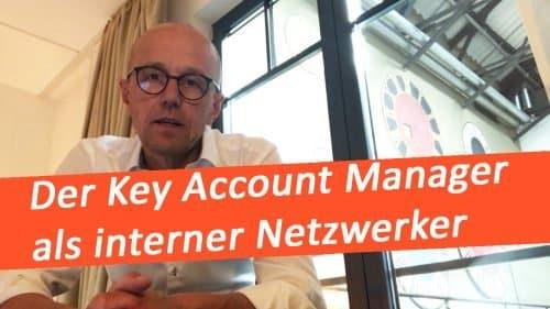 Key Account Manager als interner Netzwerker