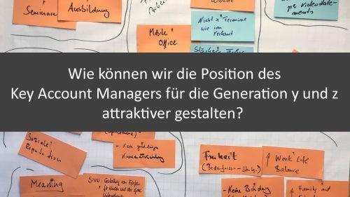 Wie können wir die Position des Key Account Managers für die junge Generation attraktiver gestalten?