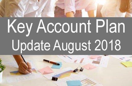 Key Account Plan Update August 2018