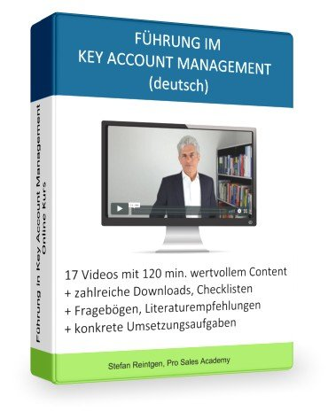 """Online Kurs """"Fürung im Key Account Management"""" von Stefan Reintgen"""