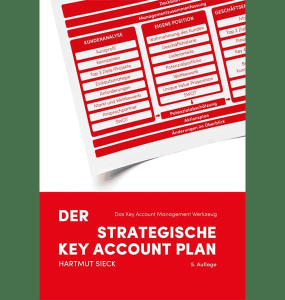 """Buch """"Der strategische Key Account Plan"""" von Hartmut Sieck"""