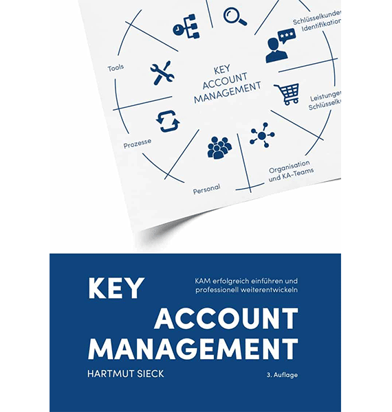 Buch Key Account Management von Hartmut Sieck