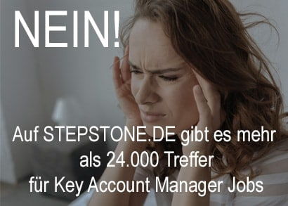 Key Account Manager Jobs bei Stepstone